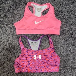 Girls medium sport bras